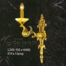 Đèn Tường Nến Đồng NLNV705-1
