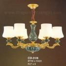 Đèn Chùm Đồng EU-CD31 Ø730
