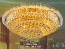 Đèn Mâm Pha Lê Led VIR280 Ø1000