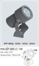Đèn Led Pha Cột Góc 24 độ AFC 009 7W