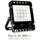 Đèn Pha Ngoài Trời LED 01 30W