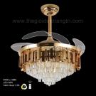 Đèn Quạt Trần Hiện Đại ERA-QD9018 Ø1100