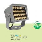 Đèn Pha LED 24W URN0324