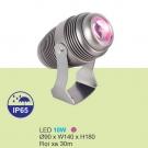 Đèn LED Pha Cột Rọi Xa 30m 10W URN07 Tím