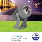 Đèn LED Rọi Cột 10W URN08 Tím