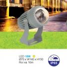 Đèn LED Rọi Cột 10W URN08 Vàng