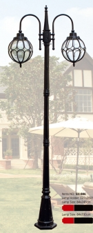 Đèn Trụ Sân Vườn SH886 W840xH2450