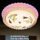 Đèn Ốp Trần Led Đổi Màu LK@6095A Ø600