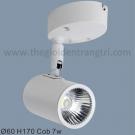 Đèn Pha Tiêu Điểm LED 7W SN6217