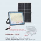 Đèn Pha LED Năng Lượng Mặt Trời 200W AFC Solar 009