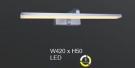 Đèn Trang Trí Gương LED AU-STA78SIL