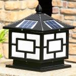 Đèn Trụ Cổng Năng Lượng Mặt Trời Đúc Gang LH-TD10 250x250