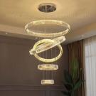 Đèn Thả Pha Lê LED Thông Tầng LH-TH8078-21 Ø1000