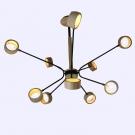 Đèn Chùm Nghệ Thuật LH-THCN10-18 Ø1000
