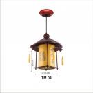 Đèn Thả Da Dê ETG508 Ø250