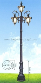 Đèn Trụ Sân Vườn TRỤ 037 H3100