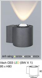 Đèn Hắt Tường LED 9W AFC Vách 033