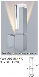 Đèn Led Hắt Tường Trang Trí 7W AFC Vách 036