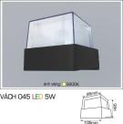 Đèn Ốp Tường LED 5W AFC Vách 045