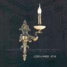 Đèn Tường Nến Đồng EVD331