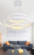 Đèn Thả LED Nghệ Thuật ZA016 Ø600